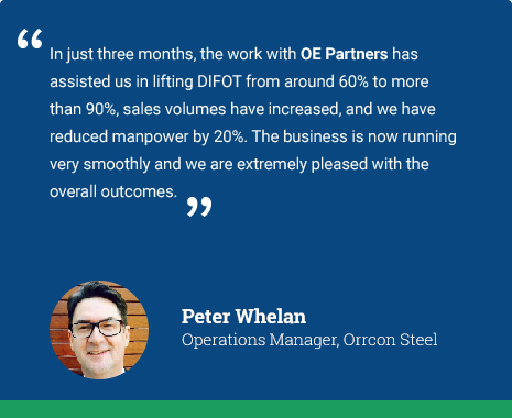Orrcon Steel Testimonial